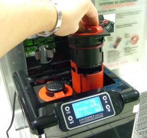 Nettoyage de la cartouche charbon des filtres FLUVAL G