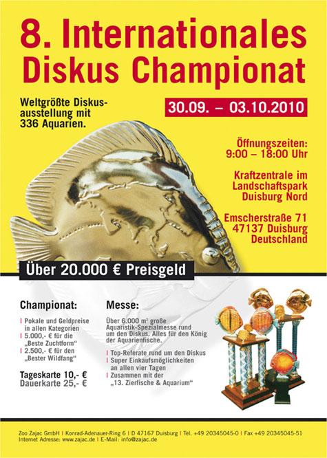Duisbourg discus show concours 2010