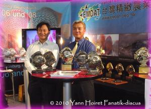 Taiwan discus farm, Yi Suei Yang, Chang Ya Shan Duisbourg 2010