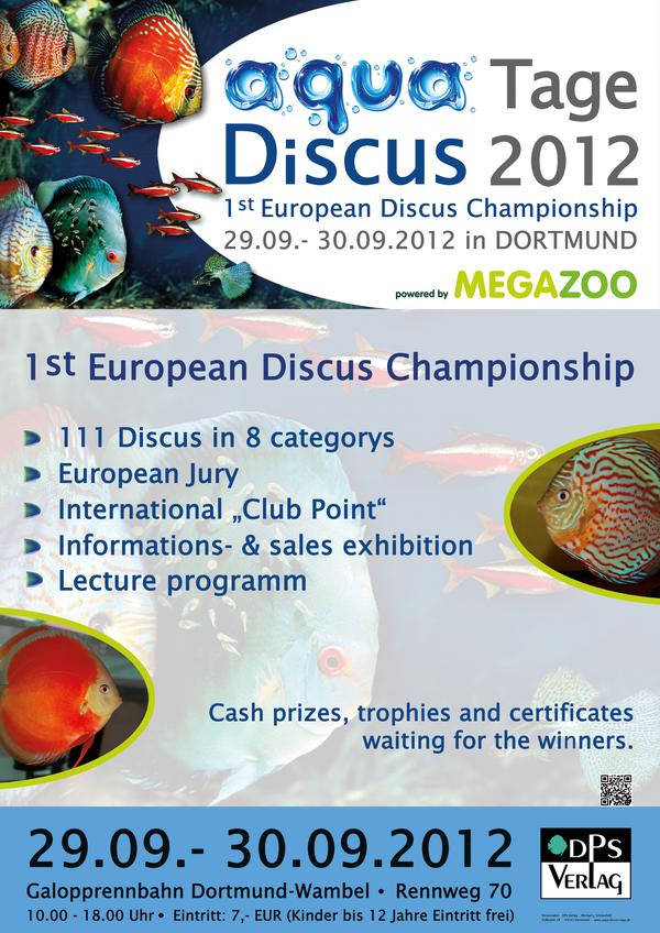 Affiche Champion européen de discus Dortmund 2012