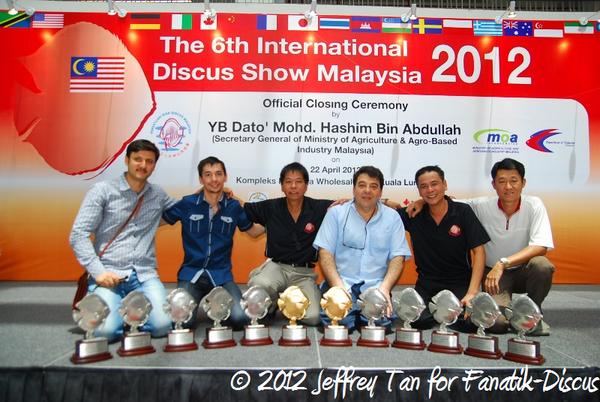 Tony Tan et ses partenaires