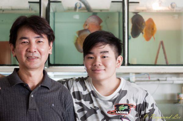 Raymond Lee et Xian Fu sur Fanatik-Discus