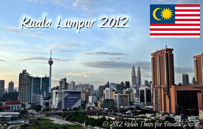 Kuala Lumpur discus show 2012