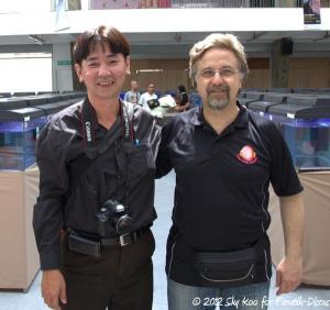 Raymond Lee et Cüneyt Birol 2012