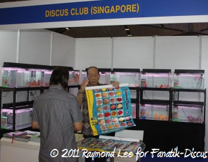 Stand Discus club singapore Aquarama 2011