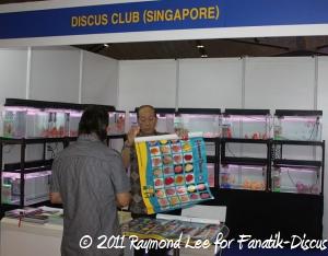 Stand Discus club singapore Aquarama 2011