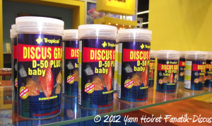 Aliment Discus gran D-50 baby pour discus Tropical