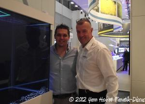 Yann Hoiret et Gerd Schulz Nurnberg Interzoo 2012