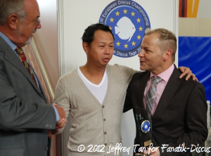 Jason Wu et Michael Schönefeld Dortmund 2012