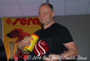 Jean Marc Sentenac France Discus Show 2014