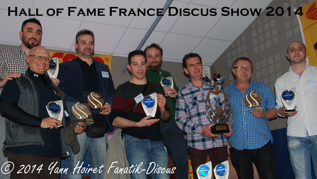 Hall of fame France Discus Show 2014