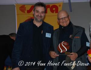 Michael Pikis et Basil Grece France Discus Show 2014