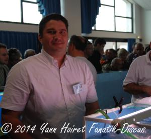 Raphael Pot France discus show Arvert 2014