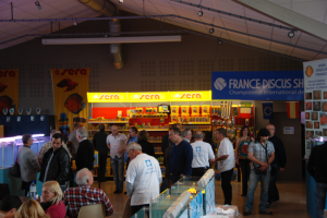 Vue partielle du France Discus show 2014