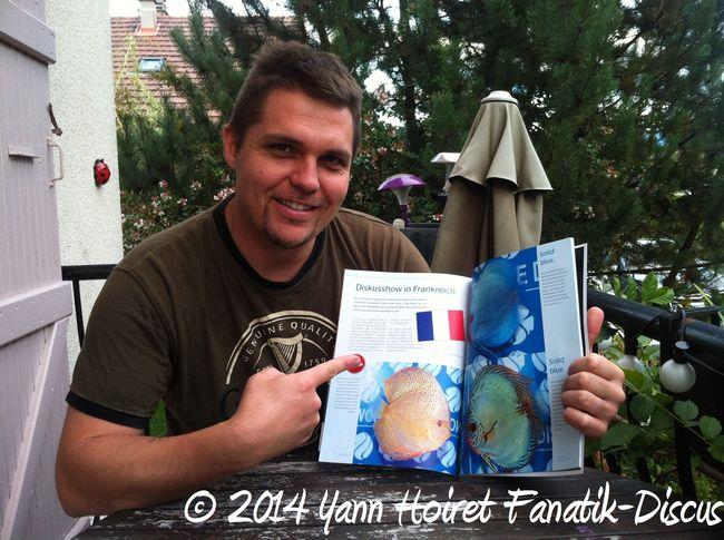 Yann Hoiret reportage pour Discus Live Magazine September 2014