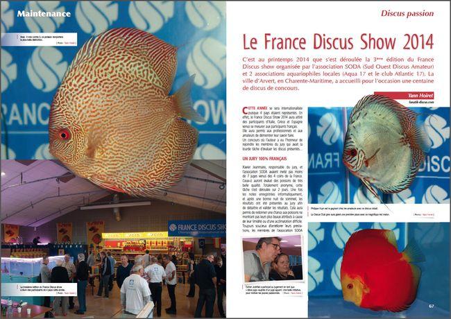 France Discus Show 2014 AquaMag