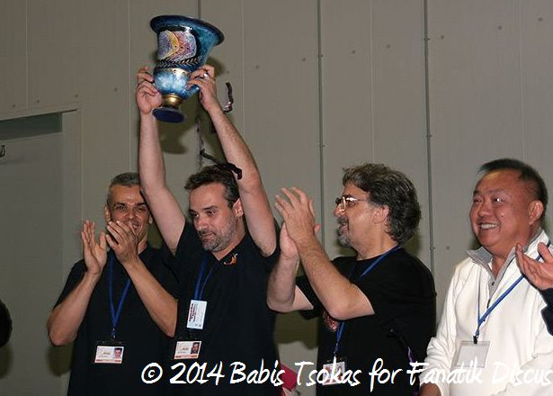 Michael Pikis Grand Champion 2014 Greece
