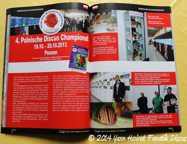 Diskus Year Book 2014 Discus Show Pologne