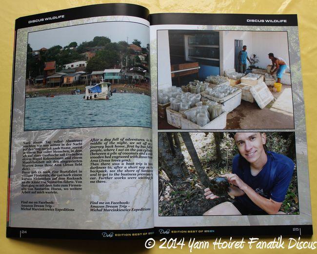 Diskus Year Book 2014 Voyage en Amazonie